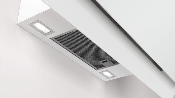 69f04f4598a Campana decorativa diseño inclinado Serie Cristal Cristal blanco ancho 80  cm EAN: 4242006264468 3BC587GB-