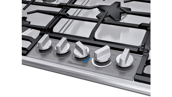 36 Inch Masterpiece Pedestal Star Burner Gas Cooktop Extralow Select Sgsxp365ts