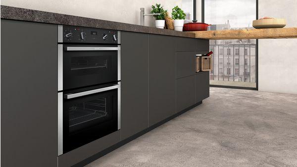 N 50 Built-in double oven Stainless steel J1ACE2HN0B J1ACE2HN0B-4