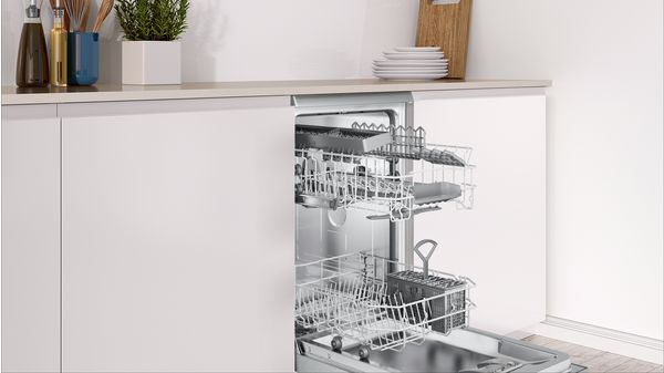 Ελεύθερο πλυντήριο πιάτων 45 cm - Χρώμα  Inox (AntiFinger) - DRS5518 ... 702c2ed46d7