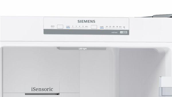 Siemens Kühlschrank Iq300 : Nofrost kühl gefrier kombination türen edelstahl look iq