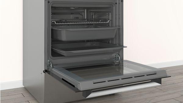 Ελεύθερη κουζίνα με ηλεκτρικές εστίες Ανοξείδωτο PHN039150 PHN039150-4