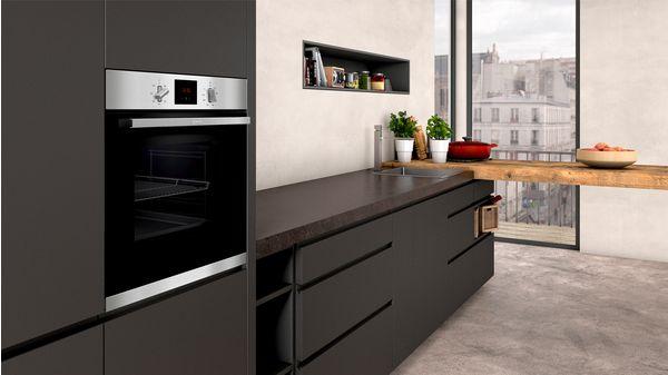 N 30 Built-in oven Stainless steel B1GCC0AN0B B1GCC0AN0B-2