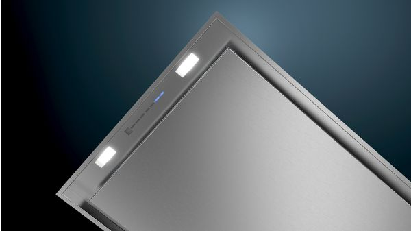 iQ500 Ceiling cooker hood 90 cm Stainless steel LR97CAQ50B LR97CAQ50B-2