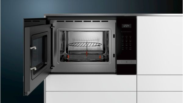 Siemens BF525LMS0 iQ500 Einbau Mikrowelle, 800 W, 20l