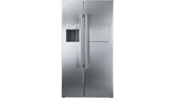 Siemens Kühlschrank Celsius Fahrenheit : Kühl gefrier kombination side by side iq500 ka63da71 siemens