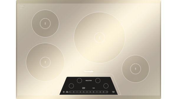 Cit304gm masterpiece 30 induction cooktop silver for Miroir 3 pans
