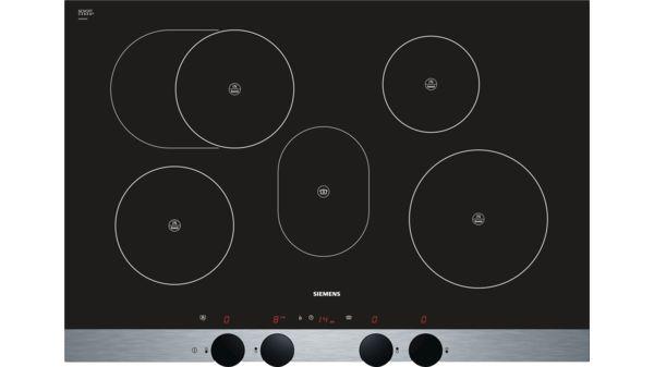 Piano cottura ad induzione 80 cm - vetroceramica discControl - iQ300 ...