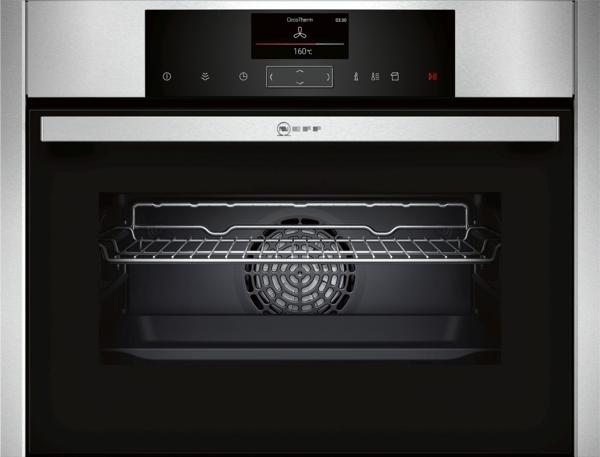 FullSteam Slide oven 12 verwarmingswijzen, EasyClean, Bake & Roast Assist, 38 auto programma's, LED-verlichting