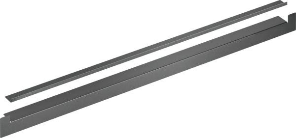 Toebehoren Afwerkingsstrip 2 stuks (1x tussen 2 ovens & 1x lat onder oven)