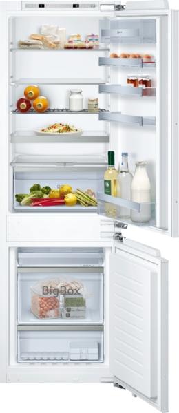 Integreerbare Bottom-Freezer Koelz. 188 l, vriesz. 67 l****, NoFrost, FreshSafe 2, Gourmet flessenrek, BigBox, SoftClose vlakscharnieren, H 177,5 cm