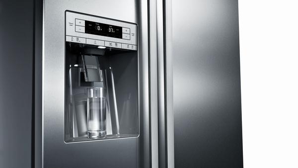 Bosch B20CS30SNS, Freestanding Counter-Depth Side-by-Side Refrigerator