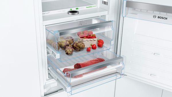 Bosch B09IB91NSP, Built-in Bottom Freezer Refrigerator